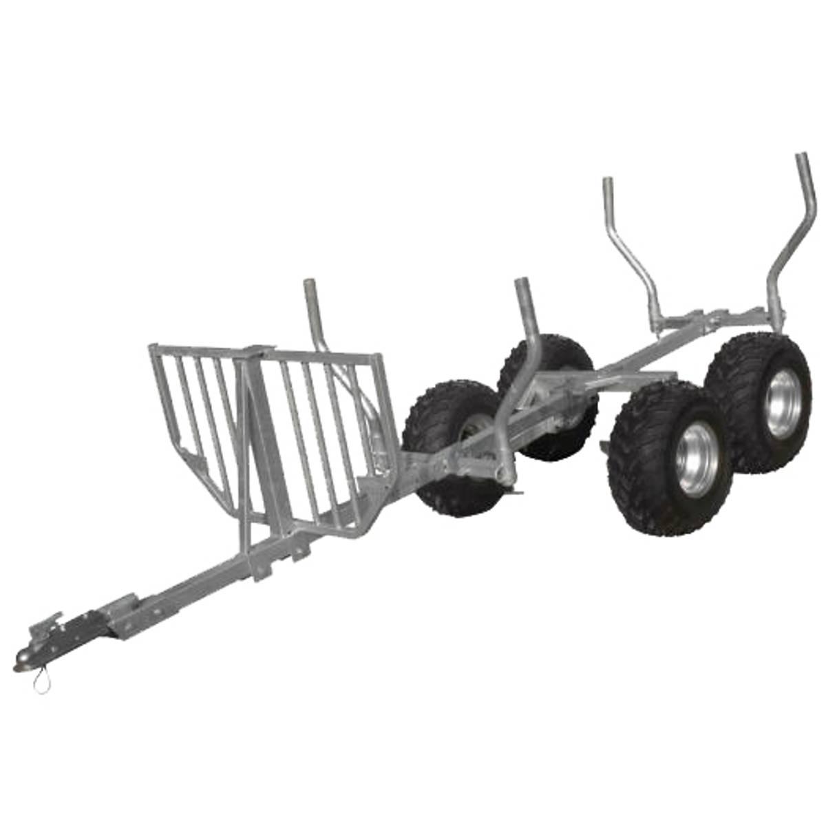 GEO TT 1010 Tømmervogn med kran